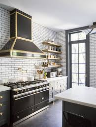 the glamorous look of a black and gold kitchen megan morris