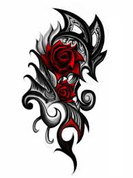25 trending tribal rose tattoos ideas on pinterest tribal