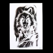 wolf tattoos pictures reviews online shopping wolf tattoos