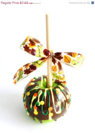 on sale chocolate covered apple thanksgiving table