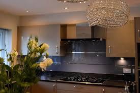 Kitchen Design Hertfordshire Cool Grey Mirror Stripes