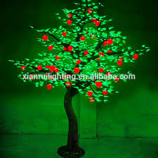 apple fruit tree led lights high imitation trees for park