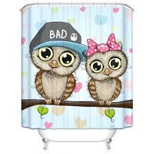 Owl Shower Curtains Unusual Bathroom Curtain Hooks Pictures Inspiration Bathtub