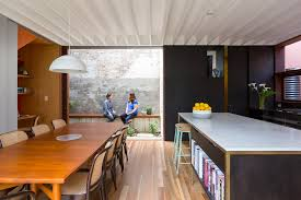 courtyard house aileen sage architects archdaily