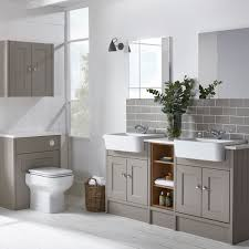 fitted bathroom furniture ideas roper burford mocha his and hers bathroom