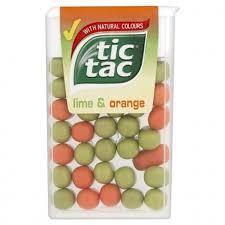 tic tac buy tic tac lime orange 18g x 24 for only 9 49 j l