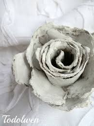 diy tutorial how to make roses out of cardboard egg cartons