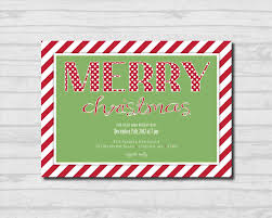 christmas party invitation free template gallery wedding and