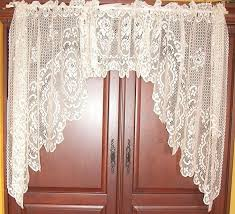 Lace Valance Curtains Valance Curtains Lace Heritage Welcome Swag Curtain Sheer Window