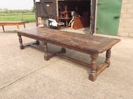 antique dining room tables antique furniture warehouse large antique dining table 12ft