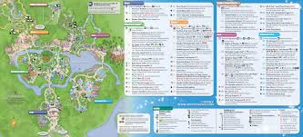 Disney Florida Map by Walt Disney World Maps