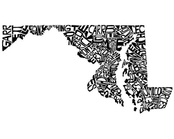 map of maryland to print 58 best maryland images on maryland baltimore