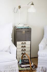 Upcycled Metal Filing Cabinet How To Turn An Old Metal Filing Cabinet Into A Side Table Metals