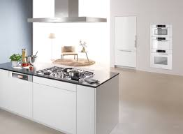 Modern White Kitchen Cabinets Round by Kitchen Exciting Modern White Kitchen Decoration Using Decorative