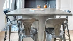 fait de la cuisine béton ciré dans la cuisine côté maison