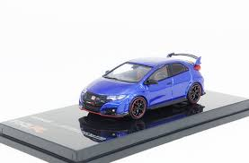 tarmac works 1 64 honda civic type r fk2 brilliant sporty blue