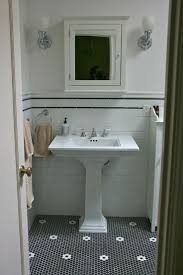 Sam Has A Great Experience With Powder Coating Her Vintage by Best 25 Black Tile Bathrooms Ideas On Pinterest Black Tiles