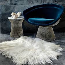 White Skin Rug White Himalayan Goatskin Rug Hides Of Excellence