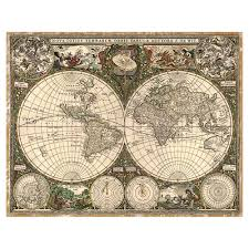 Map Of The World Art by Frederik De Wit Map Of The World 1660