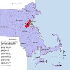 map of massachusetts counties counties cities and towns in eastern massachusetts eastern mass