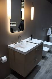 bathroom trends at ids 2017 feature tubs and compact fixtures
