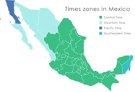 map of time zones usa and mexico us time zone map summer timezones in mexico2 thempfa org