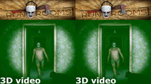 3d vr box tv horror run rooms video side by side sbs google