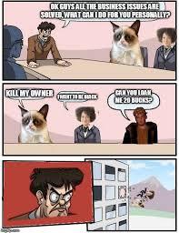 Business Meeting Meme - boardroom meeting suggestion imgflip