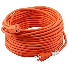 amazonbasics 16 3 vinyl outdoor extension cord 100 feet orange