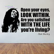 aliexpress com buy bob marley face quote vinyl sticker decal aliexpress com buy bob marley face quote vinyl sticker decal wall art phrase famous reggae wall stickers home decor ornament wallpaper from reliable