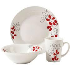 gibson scarlet leaves 12 pc dinnerware set dinnerware sets