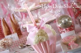 cupcake flower centerpiece