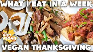 what i eat in a week thanksgiving edition