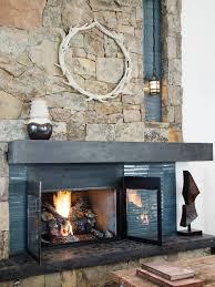 concrete fireplace mantel houzz