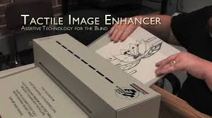 Assistive Devices For Blind Tactile Image Enhancers Assistive Technology For The Blind On Vimeo