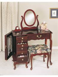Lighted Vanity Table With Mirror And Bench Bedrooms Makeup Vanity Table With Lighted Mirror Glass Makeup