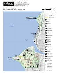 seattle map discovery park discovery park fort lawton historic area outdoor project