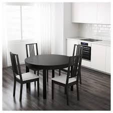 Childrens Dining Table Dining Tables Bjursta Dining Table Extendable Ikea Dark Brown