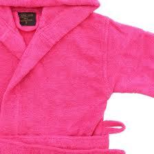 little pink piggy girls hooded dressing gown childrens bathrobes