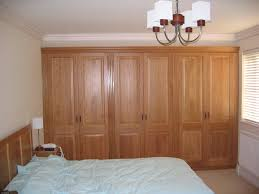 Oak Wall Unit Bedroom Sets Graceful Contemporary Brown Polished Maple Wood Wall Unit Wardrobe