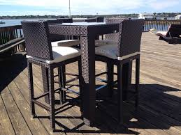 High Table Patio Furniture Furniture Top Outdoor Furniture High Top Tables On A Budget