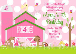 16 wonderful farm birthday invitations theruntime