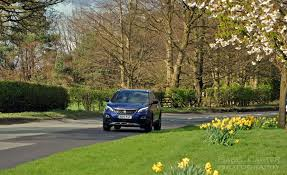 new peugeot 3008 crossover suv road test review 1 2 petrol manual gt line magnetic blue photo 06 jpg