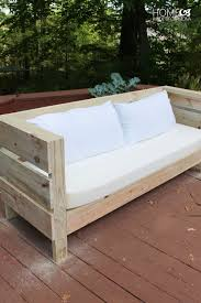 stylish diy outdoor sofa with diy outdoor couch myoutdoorplans