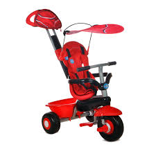 Smart Trike Recliner Smart Trike Sport 3 In 1 Tricycle Red Walmart Com