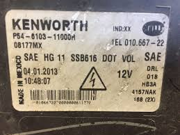 new kenworth t680 for sale 2015 kenworth t680 stock p 12 headlamp assys tpi