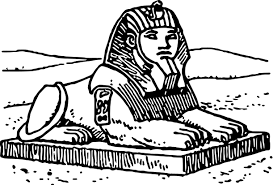 sphinx coloring page wecoloringpage