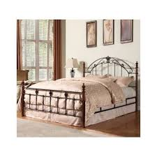 Antique Headboard And Footboard Antique Metal Queen Poster Bed Frame Wrought Iron Scroll Headboard