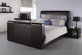 Tv Bed Frames All Home Manhattan Upholstered Tv Bed Reviews Wayfair Co Uk