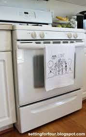 Kitchen Tea Gift Ideas For Guests Turn Children U0027s Art Into Tea Towels Guest Post Mom 4 Real